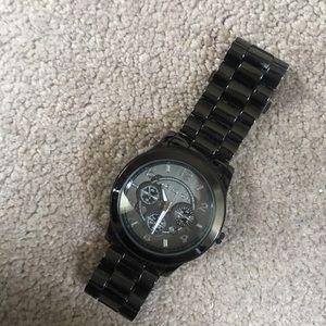 Dark grey Michael Kors watch